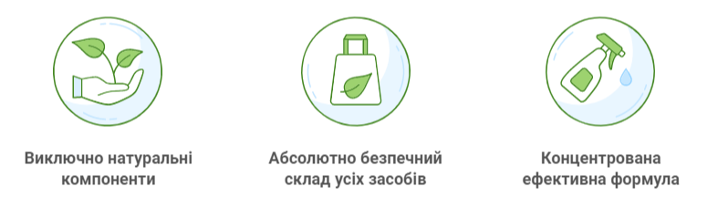 Green Max - засоби для миття, прання і прибирання
